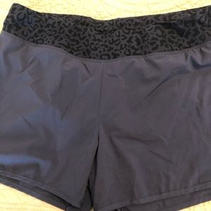 Old Navy Black Work Out Shorts Sz L